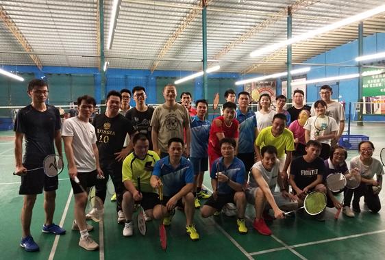 2019年博杰羽毛球协会活动